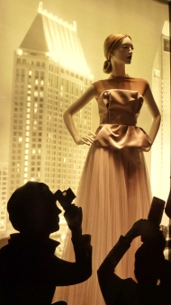 Vogue Fashion's Night Out Roma 2012, vetrina Dior